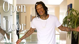 Download Inside Wiz Khalifa's $4.6 Million L.A. Home | Open Door | Architectural Digest Video