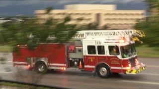 Download Broken Arrow Fire Department Ladder 6 Responding To A Structure Fire!!!!! Video