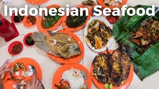 Download Indonesian Seafood Feast at Wiro Sableng Seafood 212 Video