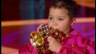 Download Little Bobby Harrison, Trumpet Player Video