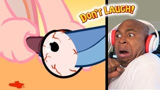 Download THESE ANIMATION'S ARE SCARIER THEN THEY ARE FUNNY #16 - Try Not To Laugh Challenge #73 Video