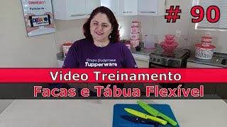 Download Facas e Tábua Flexível Tupperware Video