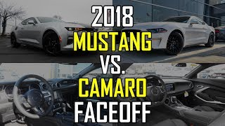 Download 2018 Ford Mustang GT vs. 2018 Chevy Camaro SS: Faceoff Comparison Video