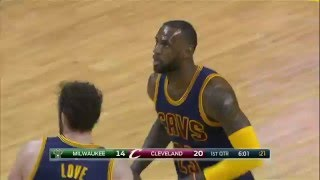 Download Milwaukee Bucks vs Cleveland Cavaliers - March 23, 2016 Video