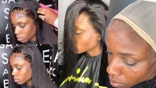 Download How to get a SUPER melted & blended lace install | HAIRBYERICKAJ Video