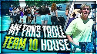 Download Jake Paul Trolled By My Fans at Team 10 House Video