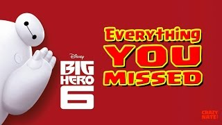 Download Disney's Big Hero 6 Easter Eggs | Everything You Missed Video