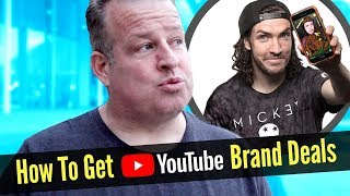 Download How to Get Sponsored with Brand Deals for Your YouTube Videos Video