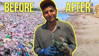 Download The Incredible Transformation Of World's Most Polluted Beach Video
