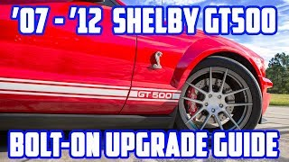 Download VMP's Bolt-On Upgrade Guide for 2007-2012 Shelby GT500 Video
