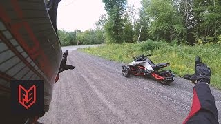Download Can-Am Spyder F3-S First Ride & Impressions Video
