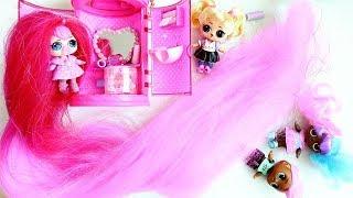Download КУКЛА ЛОЛ с Самыми Длинными ВОЛОСАМИ !!! Кукла LOL #Hairgoals !! Видео для детей Video