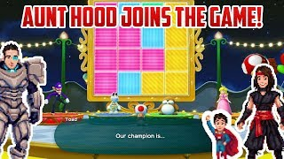 Download Mario Party! AUNT HOOD JOINS THE GAME! AND LOSES Video
