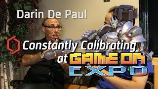 Download Game On Expo 2016 - Interview w/ Darin De Paul (Overwatch, SWTOR, etc) Video