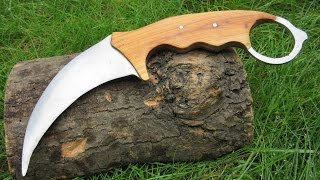 Download Making a Karambit From an Old Saw Video