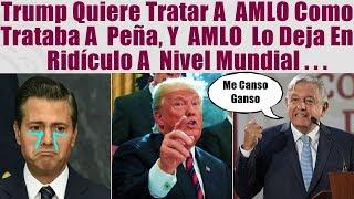 Download Tump quería tratar a AMLO como a Peña, y mira cómo lo dejó en ridículo a nivel mundial... Video