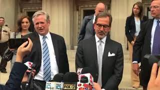 Download Defense team for Gov. Eric Greitens makes a statement after invasion of privacy charge dismissed Video