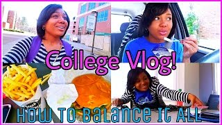 Download COLLEGE VLOG: Typical Days, VLOGGING ADVICE || Skipping Class, BALANCE & TIME MANAGEMENT! Video