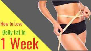 Download How to Lose Belly Fat in 1 Week Video