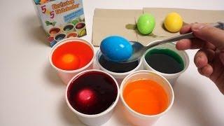 Download DIY Đồ chơi trẻ em, Bộ nhuộm màu trứng Phục Sinh Video