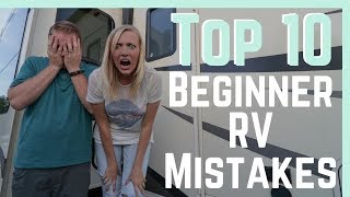Download Top 10 Beginner RV Mistakes (And How To AVOID Them!) || RV Living Video