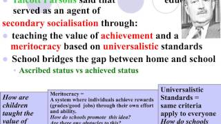 Download functionalist view of the role of education Video