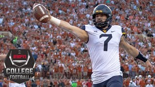 Download West Virginia stuns Texas on 2-point conversion | College Football Highlights Video