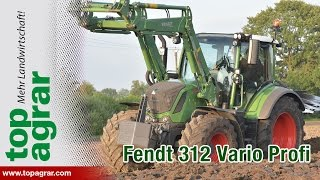 Download Fendt 312 Vario Profi im top agrar-Schleppervergleich 2016 4/7 Video