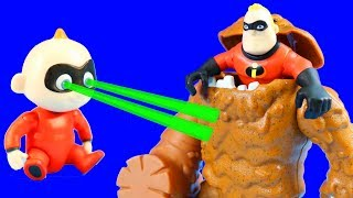 Download The Incredibles 2 Dash & Jack Jack Rescue Mr. Incredible And Battle Clayface Video