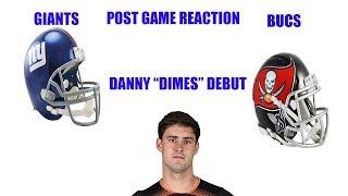 Download New York Giants vs Tampa Bay Bucs Recap! Daniel Jones leads us to victory! Video