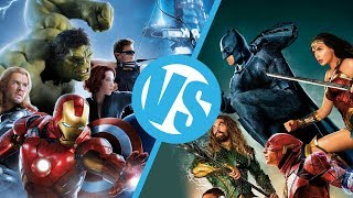 Download The Avengers VS Justice League : Movie Feuds Video