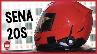 Download Installing the Sena 20S Bluetooth on my Icon Airmada Helmet Video