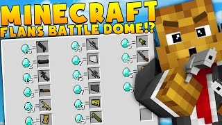 Download Minecraft MEGA WEAPONS MODDED BATTLEDOME CHALLENGE - Minecraft Mod Video