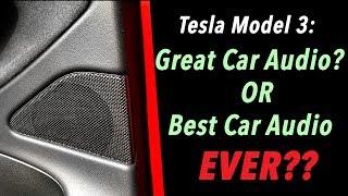Download Tesla Model 3: Great Car Audio.. or Best Car Audio EVER? Video