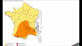 Download LUNDI 13 AOÛT 2018 ALERTE METEO ORAGES DILUVIENS SUD FRANCE Video