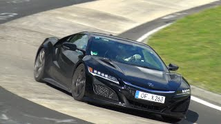 Download 2016 Honda NSX - Exhaust SOUNDS on the Nurburgring Video