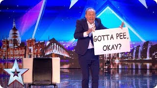 Download Tonight's the night for HILARIOUS variety act Ben Langley! | Auditions | BGT 2018 Video