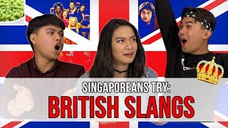 Download Singaporeans Try: British Slangs | EP 122 Video