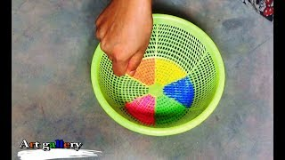 Download Creative Art rangoli designs by Basket/Innovetive Kolam designs. Video