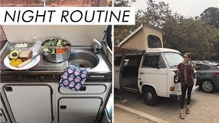 Download My Zero Waste Night Routine While Van Camping | Alli Cherry Video