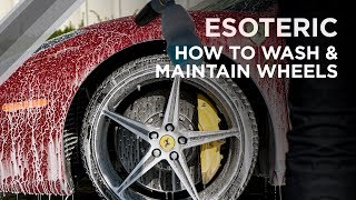 Download How to Wash and Maintain your Wheels - ESOTERIC Car Care! Video
