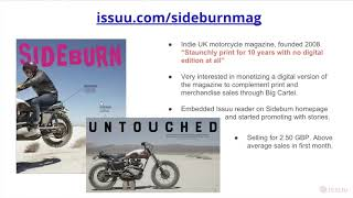 Download Sell Your Digital Content on Issuu Video