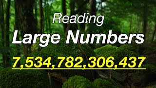 Download Reading Large Numbers in English Video