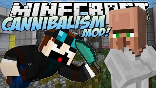 Download Minecraft | CANNIBALISM MOD! (Eating Dr Trayaurus!) | Mod Showcase Video