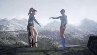 Download iClone 6 Unreal Engine Eva & Domina Video