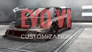 Download Need for Speed No Limits | Mitsubishi EVO VI CUSTOMIZATION GAMEPLAY Video