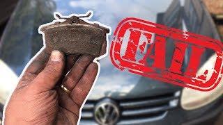 Download VW Golf mk5 Rear Brake Pads Replacement Video