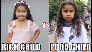 Download Rich Child vs. Poor Child Experiment!! Video
