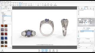 Rendering Jewellery in 3DS Max and Keyshot - Tutorial Free