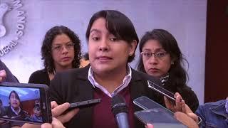 Download Entrevista a la Dra. Perla Gómez al término de la presentación de las Recomendaciones 6 y 7/2017 Video